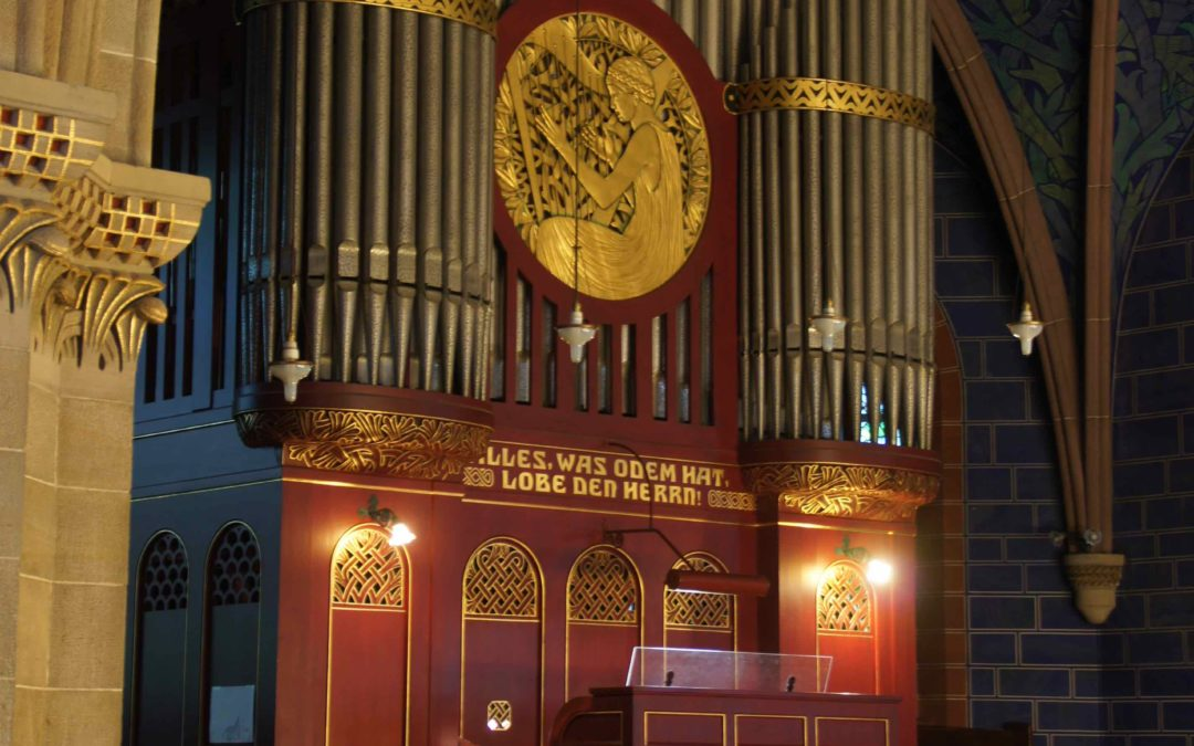 Charity concert: Bruckner's Symphonie No. 9 in d-minor for organ