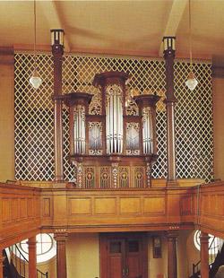 Orgelkonzert an der historischen Stumm-Orgel