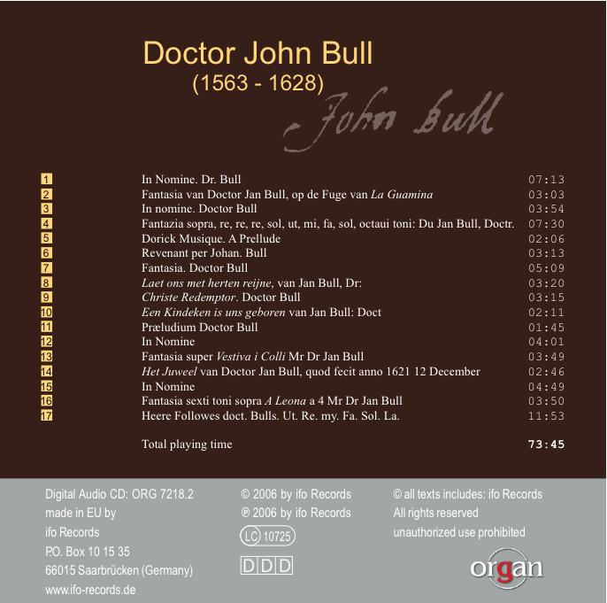 Bull CDback